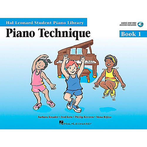 Hal Leonard Piano Technique Book 1 Book/CD Hal Leonard Student Piano Library-thumbnail