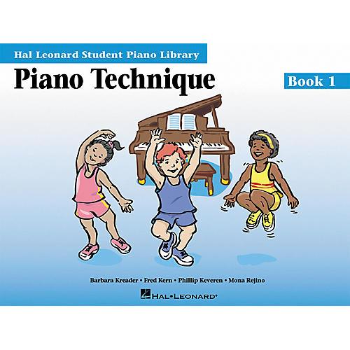 Hal Leonard Piano Technique Book 1 Hal Leonard Student Piano Library