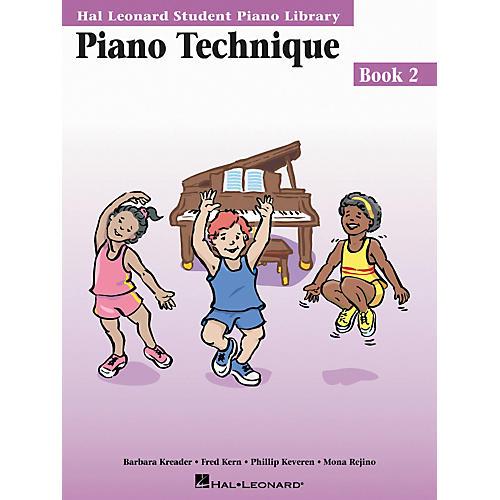 Hal Leonard Piano Technique Book 2 Hal Leonard Student Piano Library