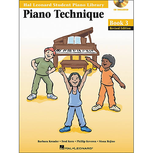 Hal Leonard Piano Technique Book 3 Book/CD Hal Leonard Student Piano Library