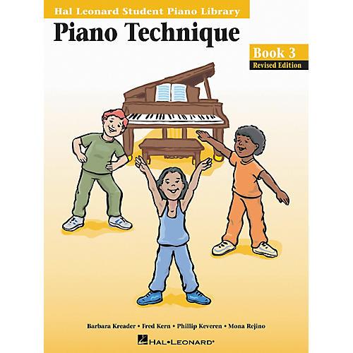 Hal Leonard Piano Technique Book 3 Hal Leonard Student Piano Library