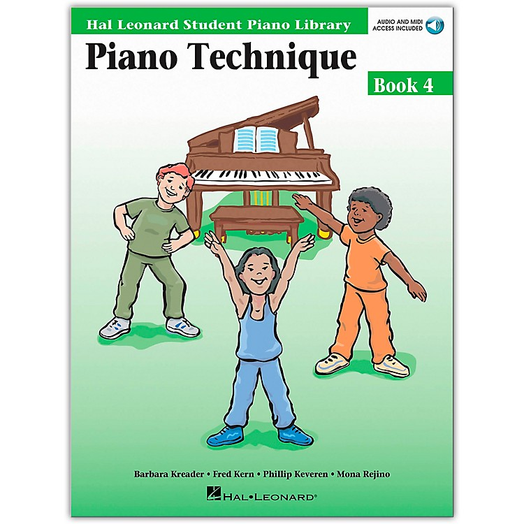 Hal Leonard Piano Technique Book 4 Book/CD Hal Leonard Student Piano Library
