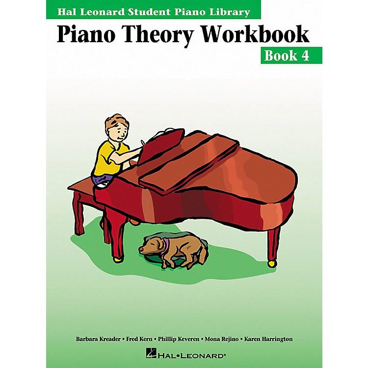 Hal LeonardPiano Theory Workbook 4 Hal Leonard Student Piano Library