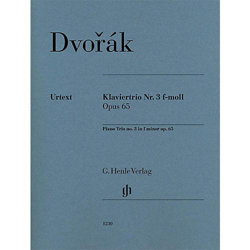 G. Henle Verlag Piano Trio No. 3 in F minor, Op. 65 Henle Music Folios Series Softcover Composed by Antonín Dvorák