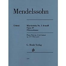 G. Henle Verlag Piano Trio Op. 49 (Additional Flute Part) Henle Music Folios Series Softcover by Felix Mendelssohn