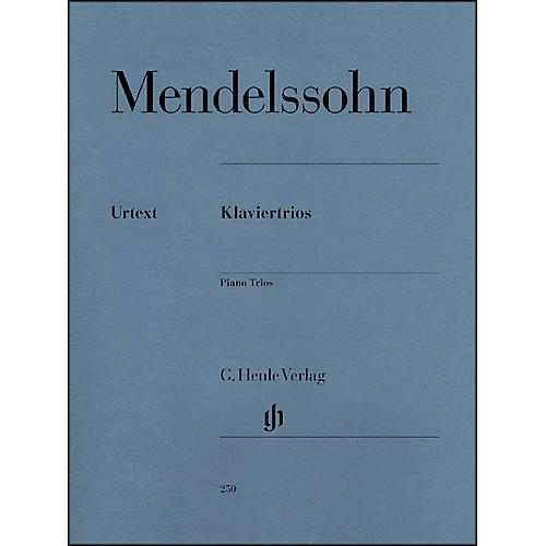 G. Henle Verlag Piano Trios - Violin And Violoncello Parts By Mendelssohn