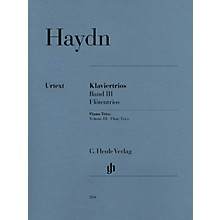 G. Henle Verlag Piano Trios - Volume III: Flute Trios Henle Music Folios Series Softcover Composed by Franz Joseph Haydn