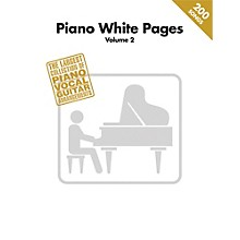 Hal Leonard Piano White Pages Vol 2 Piano/Vocal/Guitar Songbook