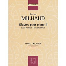 Max Eschig Piano Works - Volume II Editions Durand Softcover Composed by Darius Milhaud Edited by Thomas Hammje
