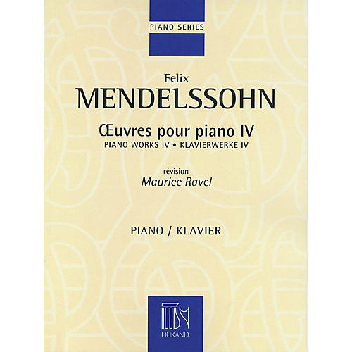 Editions Durand Piano Works IV Editions Durand Series-thumbnail