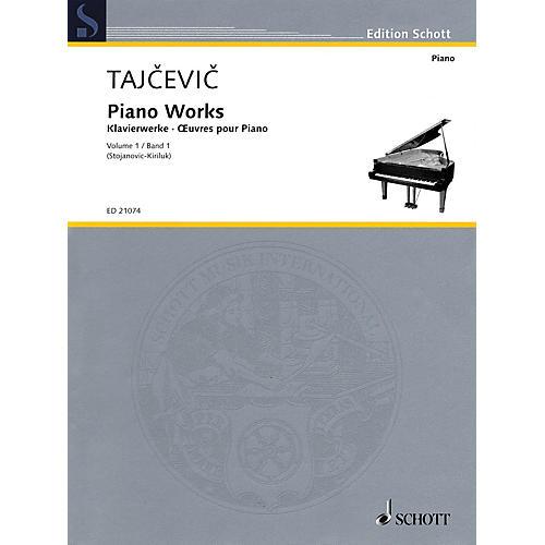 Schott Piano Works, Vol. 1 Schott Softcover Composed by Marko Tajcevic Edited by Radmila Stojanovic-Kiriluk