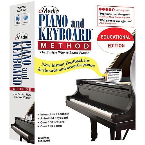 Emedia Piano and Keyboard Method 10 Station Lab Pack (10 Computers/120 Students Ea)-thumbnail