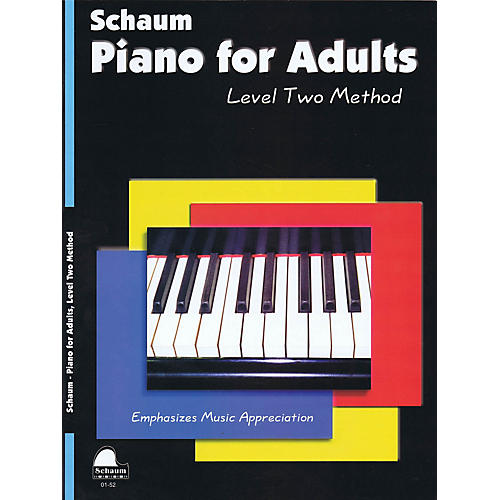 SCHAUM Piano for Adults (Level 2 Upper Elem Level) Educational Piano Book by Wesley Schaum-thumbnail