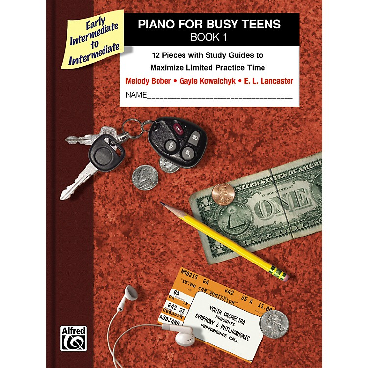 AlfredPiano for Busy Teens Book 1