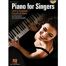 Hal Leonard Piano for Singers: Learn To Accompany Yourself And Others Book/CD