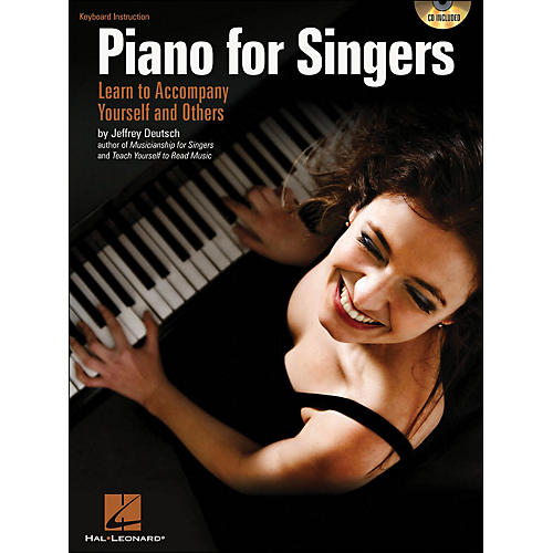Hal Leonard Piano for Singers: Learn To Accompany Yourself And Others Book/CD-thumbnail
