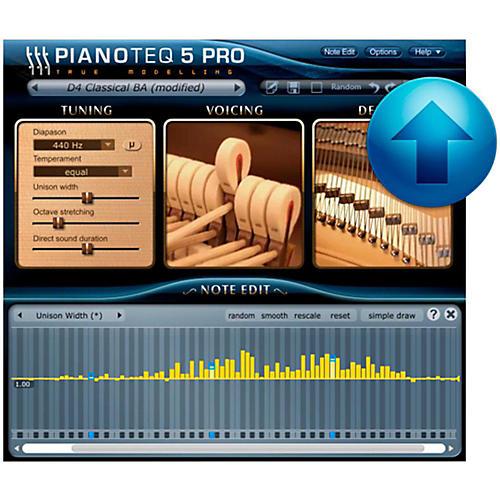Modartt Pianoteq 5 Pro Ugrade from Standard