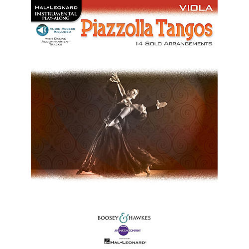Boosey and Hawkes Piazzolla Tangos (Viola) Boosey & Hawkes Chamber Music Series Softcover Audio Online-thumbnail