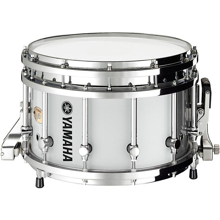 Yamaha piccolo sfz marching snare drum 14x9 inch white for Piccolo prices yamaha