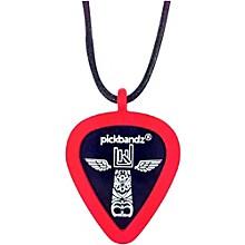 Pickbandz Pick-Holding Pendant/Necklace Rockin' Red