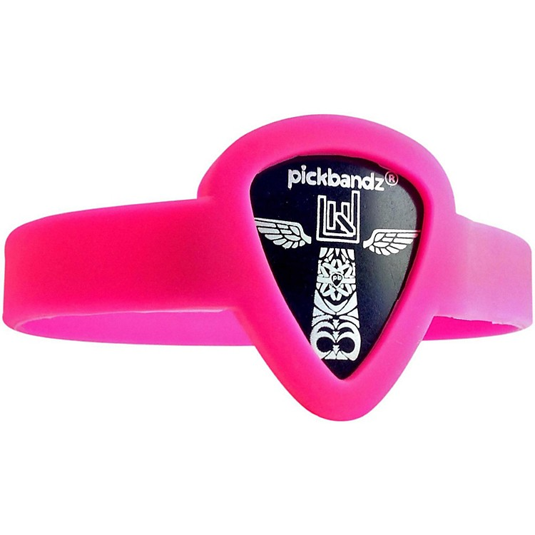 Pickbandz Pick-Holding WristBand Hollywood Pink Youth to Adult Small