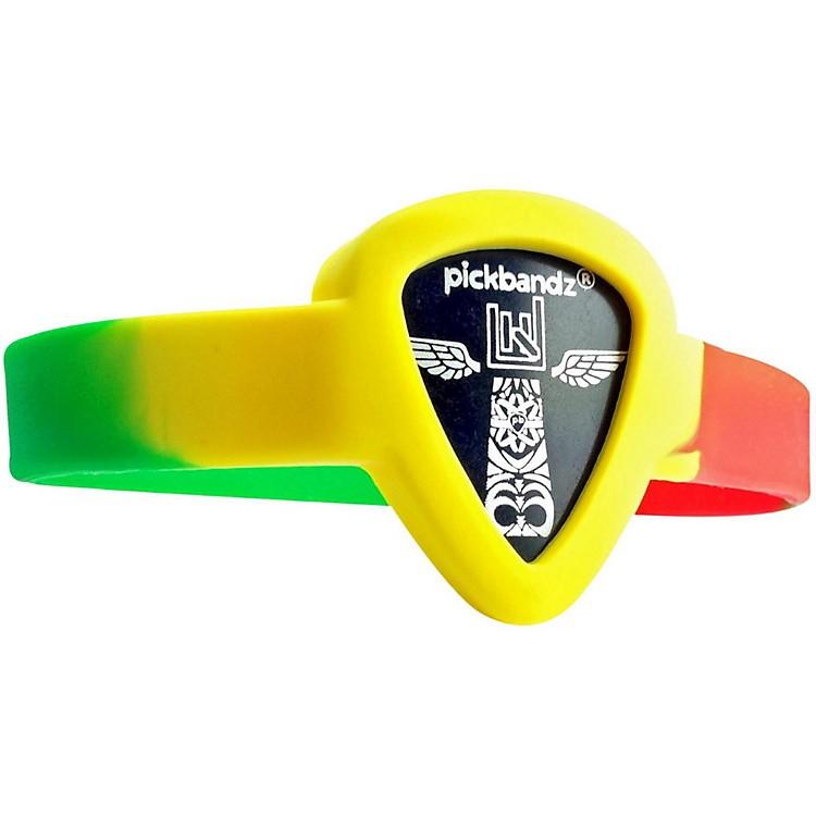PickbandzPick-Holding WristBandReggaeYouth to Adult Small