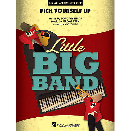 Hal Leonard Pick Yourself Up Jazz Band Level 4 Arranged by Mike Tomaro-thumbnail