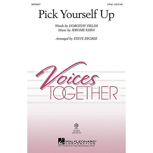 Hal Leonard Pick Yourself Up ShowTrax CD Arranged by Steve Zegree-thumbnail