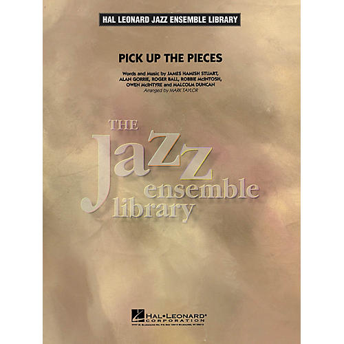 Hal Leonard Pick up the Pieces Jazz Band Level 4 Arranged by Mark Taylor