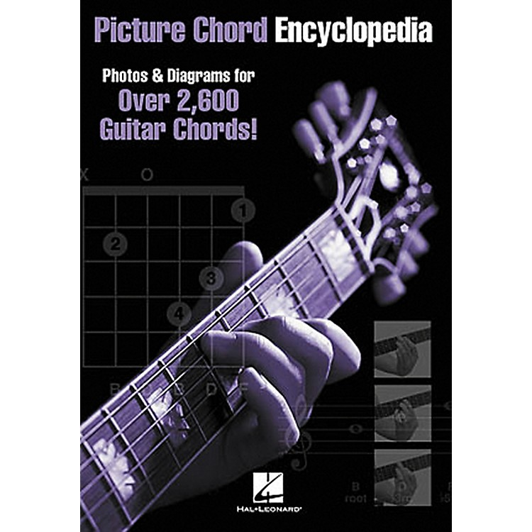 Hal Leonard Picture Chord Encyclopedia Guitar Book 6x9
