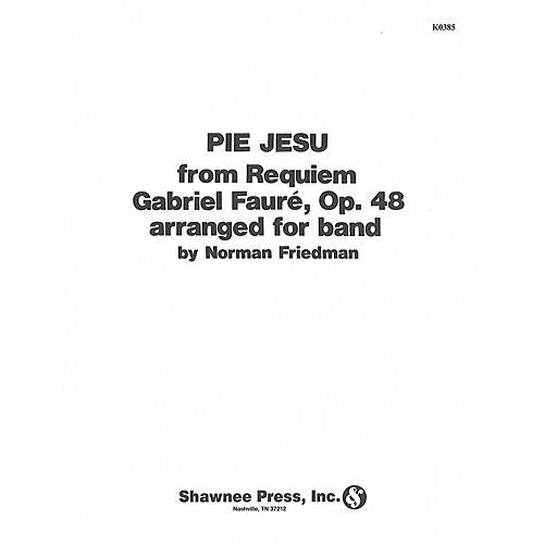 Hal Leonard Pie Jesu Concert Band Level 2 1/2 Arranged by Friedman