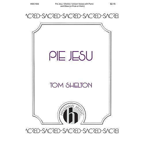 Hinshaw Music Pie Jesu UNIS arranged by Tom Shelton-thumbnail