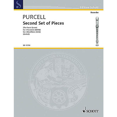 Schott Pieces from The Fairy Queen (Performance Score) Schott Series by Henry Purcell-thumbnail