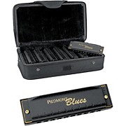 Piedmont Blues 7-Harmonica Pack with Case