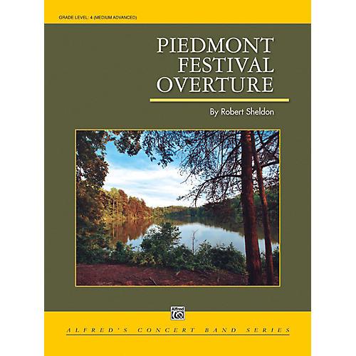 Alfred Piedmont Festival Overture - Grade 4 (Medium Difficult)-thumbnail