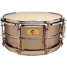 Pork Pie Pig Iron Snare Drum 14x6.5 in. Polished Raw