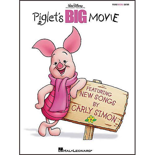Hal Leonard Piglet's Big Movie Piano, Vocal, Guitar Songbook-thumbnail