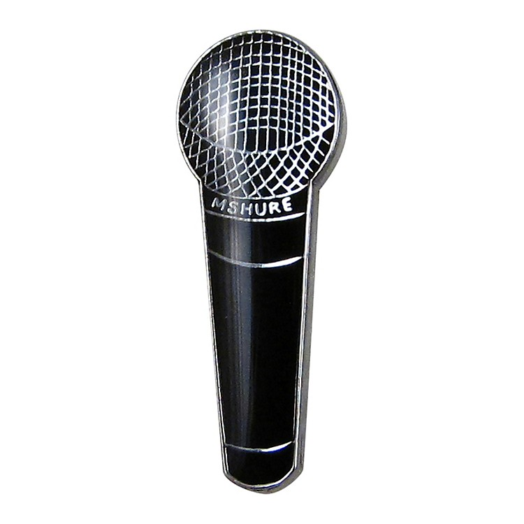 AIM Pin Microphone Black