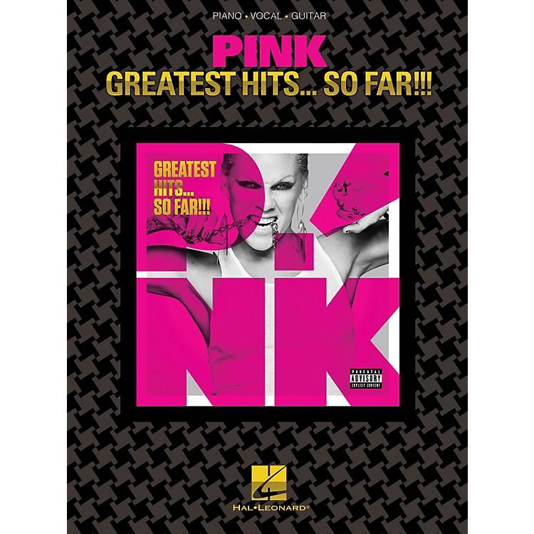 Hal LeonardPink - Greatest Hits...So Far!!! PVG Songbook