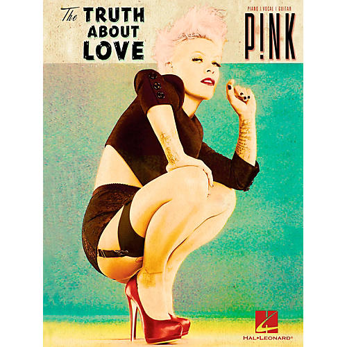Hal Leonard Pink - The Truth About Love Piano/Vocal/Guitar (PVG)