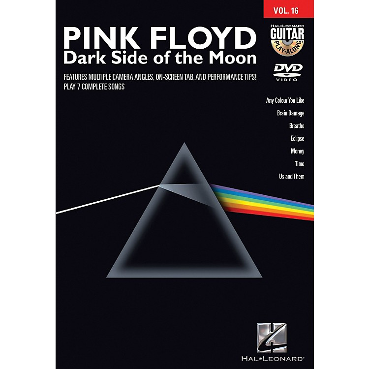 Hal Leonard Pink Floyd - Dark Side of the Moon Guitar Play-Along Series DVD Volume 16
