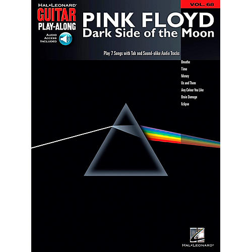Hal Leonard Pink Floyd - Dark Side of the Moon Guitar Play-Along Volume 68 Book and CD-thumbnail