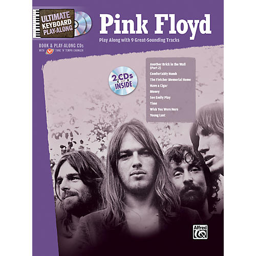 Alfred Pink Floyd - Ultimate Keyboard Play-Along (Book/CD)-thumbnail