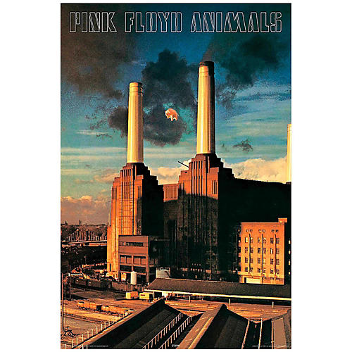 Hal Leonard Pink Floyd Animals Wall Poster-thumbnail