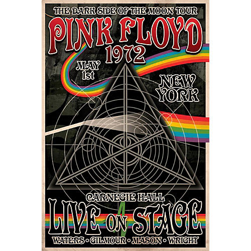 Axe Heaven Pink Floyd Dark Side of the Moon Tour - Wall Poster-thumbnail