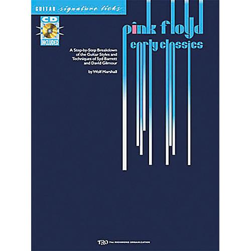 Hal Leonard Pink Floyd Early Classics Guitar Signature Licks Book with CD-thumbnail