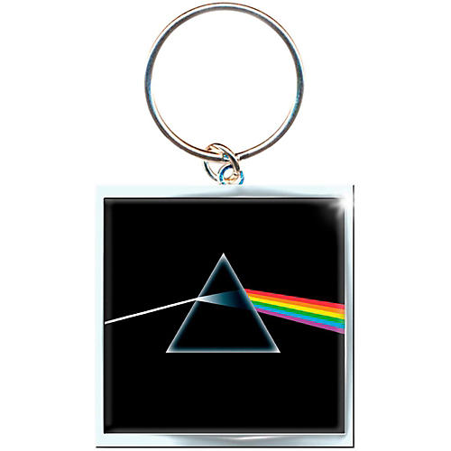 ROCK OFF Pink Floyd Key Ring Dark Side Of The Moon Album Keychain-thumbnail