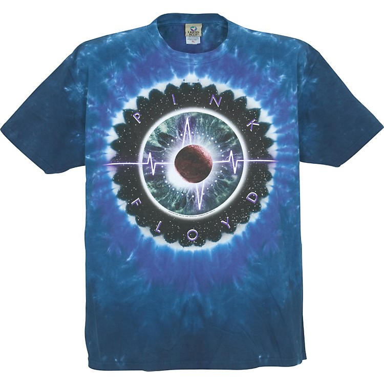 Gear One Pink Floyd Pulse Concentric T-Shirt Blue L