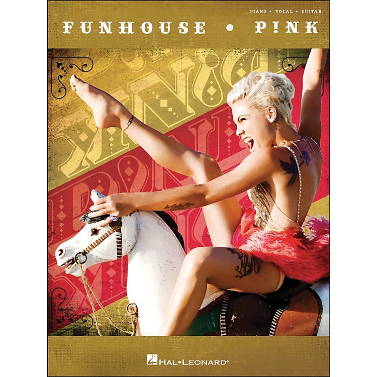 Hal Leonard Pink Funhouse arranged for piano, vocal, and guitar (P/V/G)