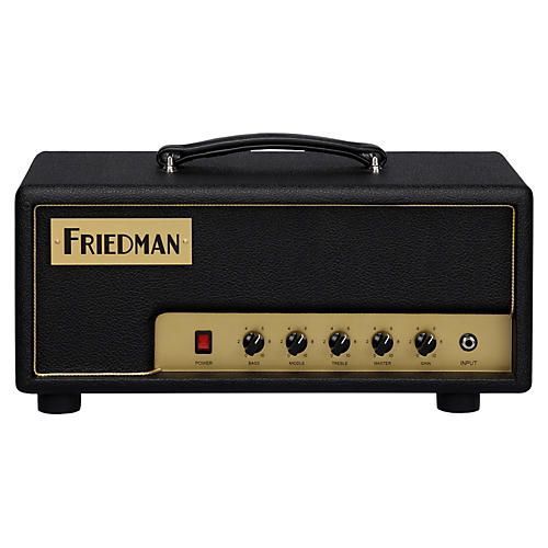 Friedman Pink Taco 20-Watt Hand-Wired Head Black